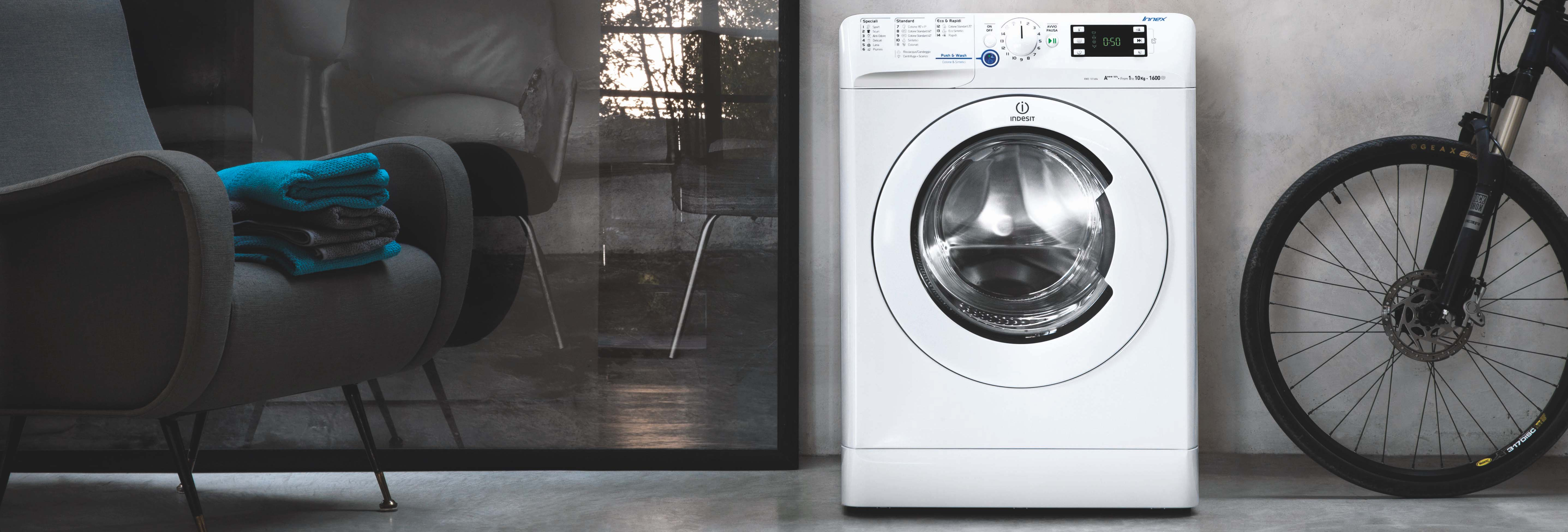 Indesit Laundry Banner